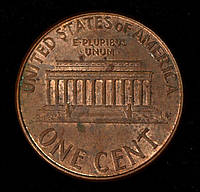 Монета США 1 цент 2005 г.