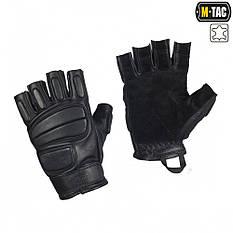 M-tac m-tac перчатки беспалые кожаные assault tactical mk.1 black