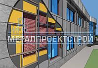 Кронштейн для фасада, уголок, шляпный профиль (омега)