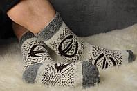 Шерстяные носки, теплые вязаные носочки, мужские зимние носки