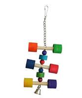 Деревянная игрушка для попугаев Ferplast PA 4091
