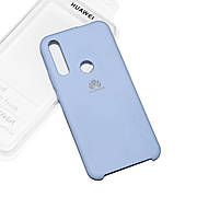 Cиликоновый чехол на Huawei P Smart Z Soft-touch Sky Blue
