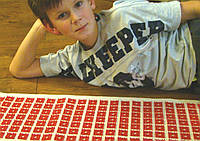 Аппликатор Кузнецова 50смх40см на хлопковой основе  (160шт), фото 1
