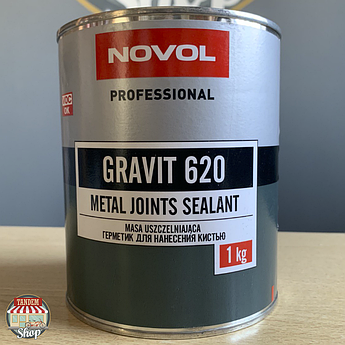 Герметик для нанесения кистью Novol Gravit 620, 1 кг