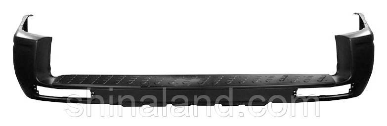 Бампер задний для Mitsubishi Pajero III (рестайлинг) 2003 - 2006 (FPS) OE MN133663XB