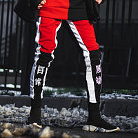 Спортивные штаны Triplekill черно-красные