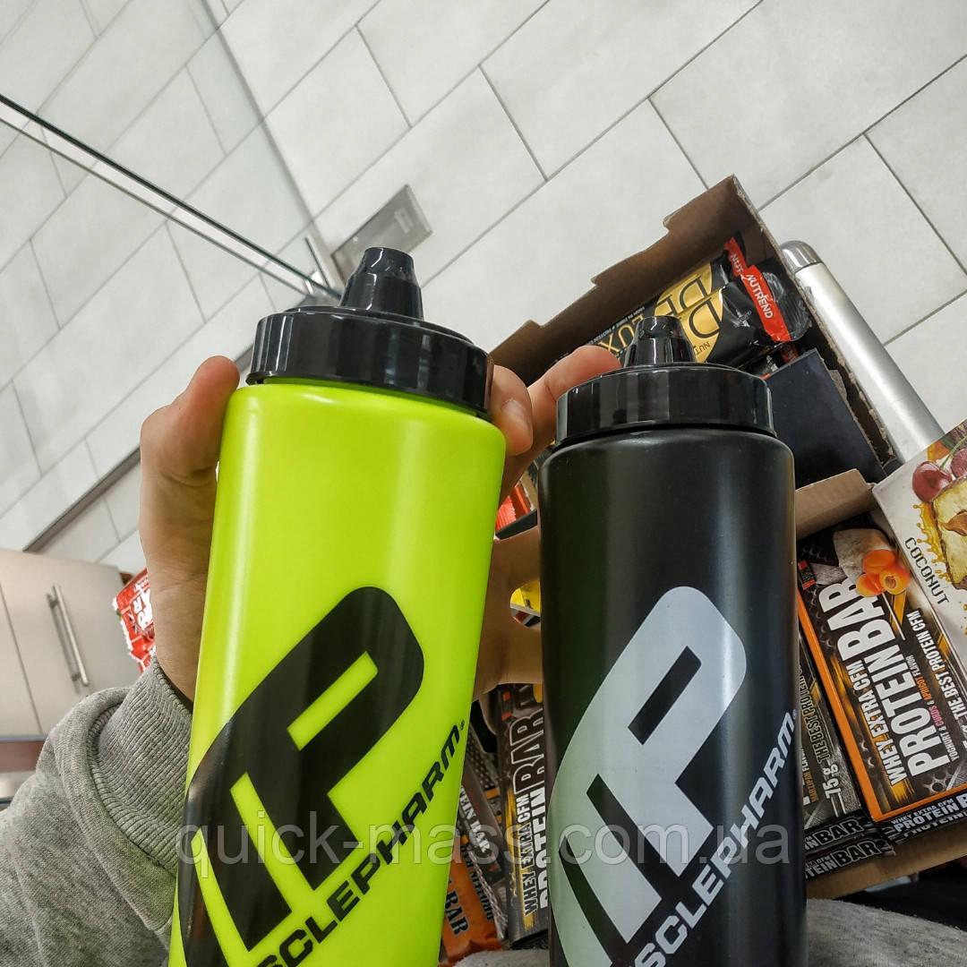 Спортивна пляшка для води MusclePharm 1000мл