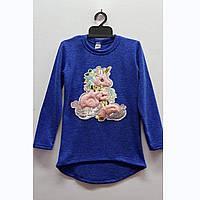 Туника-платье для девочек ангоровое, фото 1