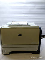 Лазерный Принтер HP LaserJet 2055dn, с сетевым интерфейсом и дуплексом, рабочий, с картриджем