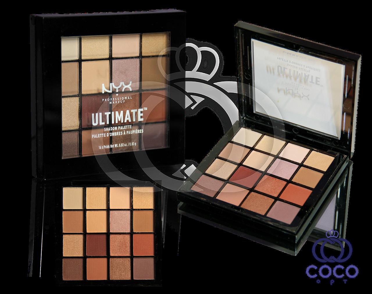 Палетка теней для век NYX Ultimate™ Shadow Palette