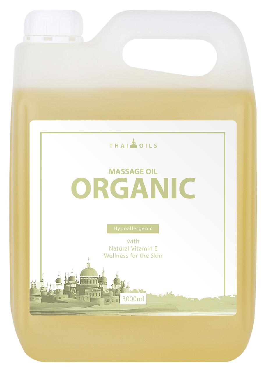 Профессиональное массажное масло «Organic» Нейтральное Миндальное 3000 ml