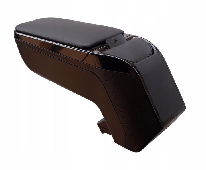 Подлокотник в авто. Корпус Армстер 2 черный (Armster 2), универсальный, без адаптера