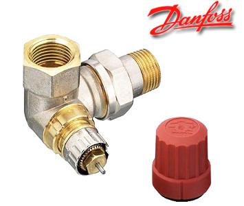"""Угловой термостатический клапан Danfoss RA-N 15 1/2"""" правый"""