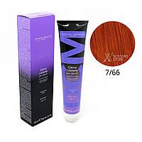 7/66 блондин глубокий медный Безамиачная краска для волос DCM Cream Ammonia 100 мл