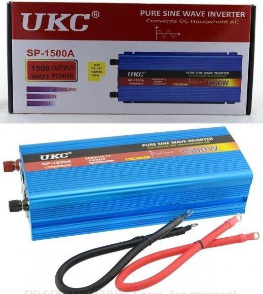 Преобразователи напряжения (инверторы) DC/AC 12В-220В