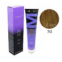 7/2 блондин пепельный Безамиачная краска для волос DCM Cream Ammonia 100 мл