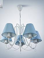 Люстра 5-ти ламповая для зала, спальни, детской 13605-3