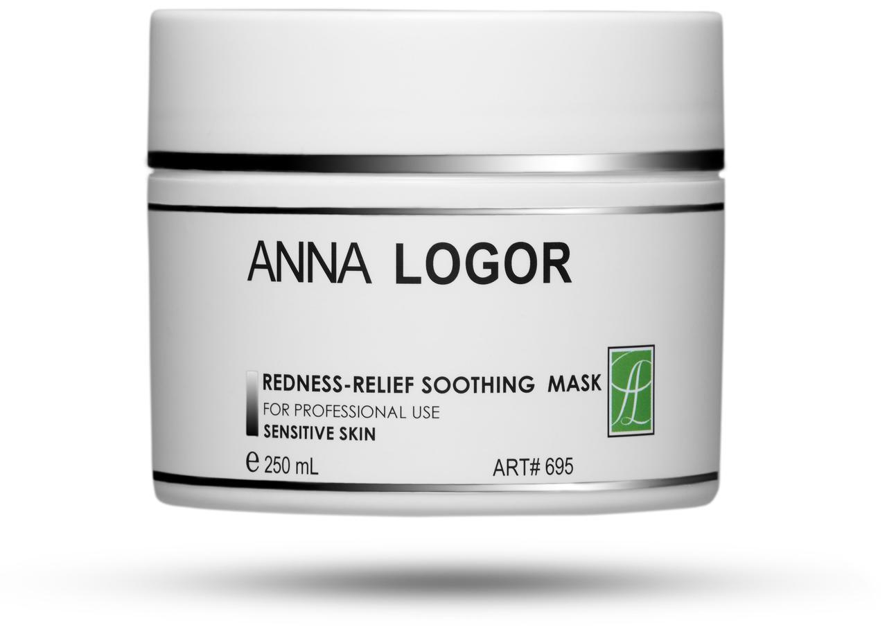 Маска успокаивающая против покраснения кожи лица Anna LOGOR Redness-Relief Soothing Mask 250 ml Art.695