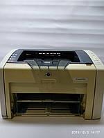 Лазерный принтер HP LaserJet 1022, рабочий, с картриджем