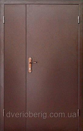 Тамбурная дверь двухстворчатая., фото 2