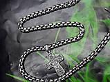 Серебряная цепочка с крестиком, фото 5