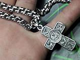 Серебряная цепочка с крестиком, фото 7