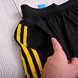 Чоловічі шорти (плащівка), чорного кольору, фото 4