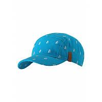 Бирюзовая кепка для мальчика Reima Lek размеры 56/58 лето мальчик;девочка TM Reima 538060-7301