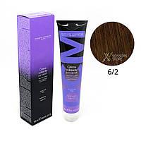 6/2 темный блондин пепельный Безамиачная краска для волос DCM Cream Ammonia 100 мл