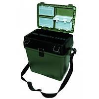 Ящик-стул для зимней рыбалки двухсекционный