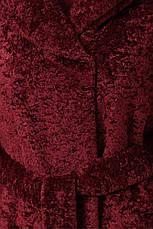 Шуба женская зимняя из эко-меха размеры: 42-48, фото 2