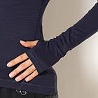 Женская водолазка Adidas Climaheat Wool Longsleeve  благородные чернила BQ7311 - Оригинал XL, фото 4