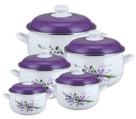 Набор эмалированной посуды 10 предметов  Edenberg EB-1871