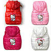 Стеганная жилетка  Hello Kitty, 4 цвета