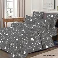 Ткань для постельного белья бязь, Голд Звезда с кометой