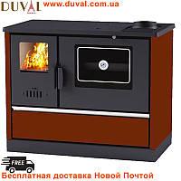 Дровяная Печь-кухня «евро буржуйка» с духовкой DUVAL ЕК-4020