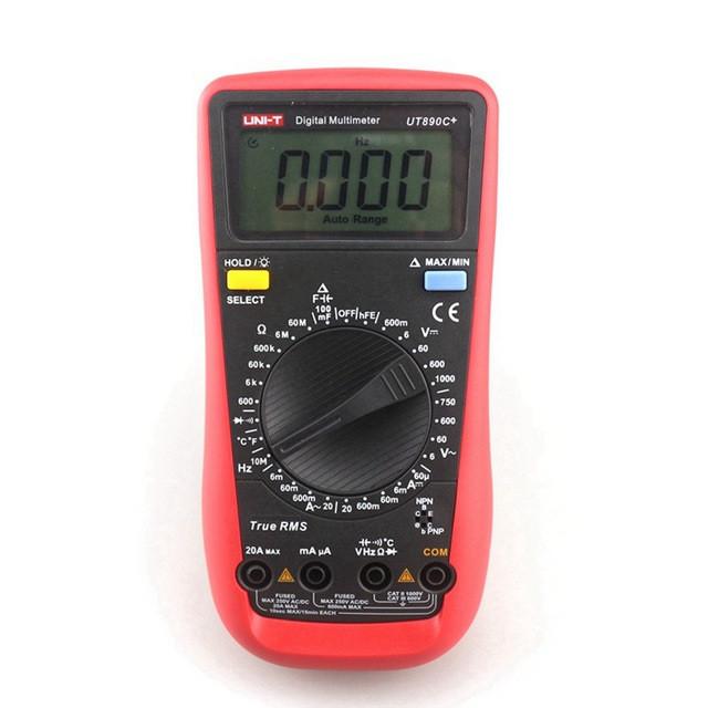 Цифровой мультиметр UNI-T UT-890C+