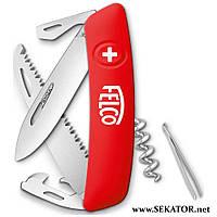 Туристичний багатофункціональний ніж Felco - SWIZA 505 (Швейцарія)