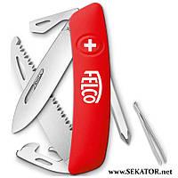 Туристичний багатофункціональний ніж Felco - SWIZA 506 (Швейцарія)