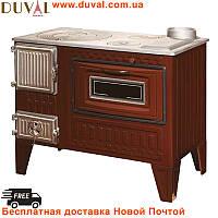 Дровяная печь - кухня для отопления и приготовления еды DUVAL EK-4011