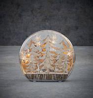 """Декоративное украшение """"Зимняя сцена, деревья"""" 22 см, """" Lighting"""" Luca Lighting (8718861684216)"""