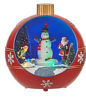 "Декоративное украшение ""Новогодний шар"" 18,5*17 см,  Luville Collectables (8718861435313RED)"