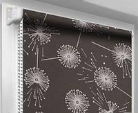 Тканевые ролеты, рулонные шторы ткань Жемчуг, Арабеска(дели), Цветы