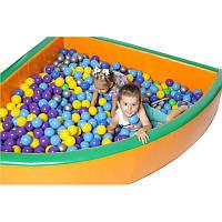 "Сухий басейн KIDIGO ""Кут"" 1,8 метра угловий великий"