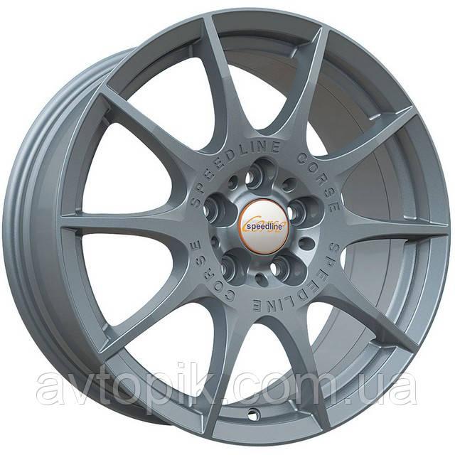 Литі диски Speedline Marmora R20 W8.5 PCD5x108 ET40 DIA76 (anthracite front diamond cut)
