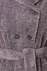 Шуба женская зимняя из эко-меха размеры: 42-50, фото 2