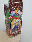 Новогодняя подарочная картонная упаковка (пакет) для конфет 300 грамм, фото 2