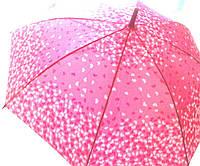 """Зонт-трость """"Сердечки"""" 105 см"""