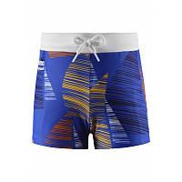Синие с парусами плавки для мальчика Reima Tonga размеры 104;110;116;122;128;134;92;98 лето мальчик TM Reima 526289-6643