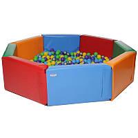 Бассейн для шариков «Радуга», фото 1